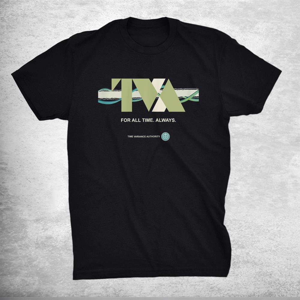 Marvel Loki Time Variance Authority Tva Timeline Shirt