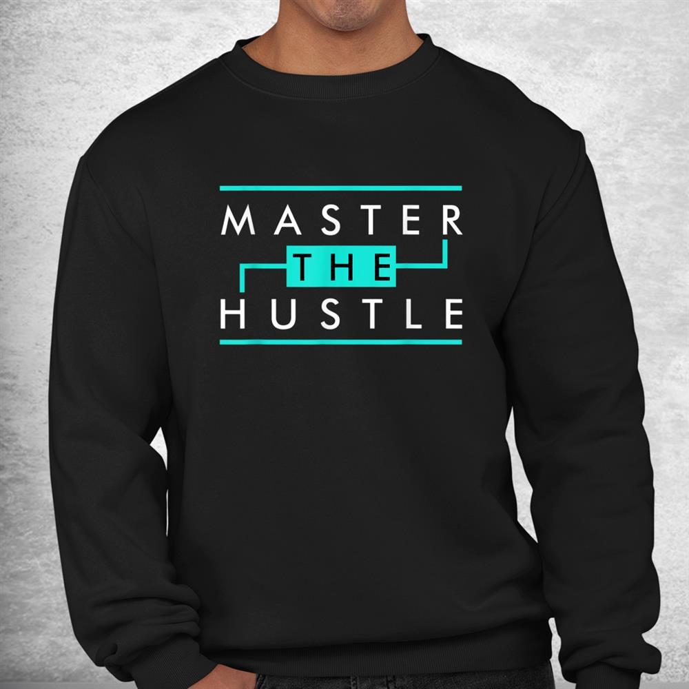 Master The Hustle Sneaker Lover Foamposites Island Green Shirt