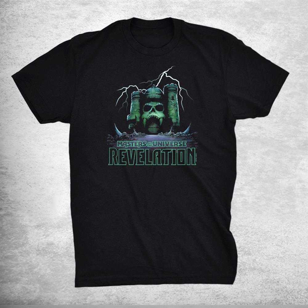 Masters Of The Universe Revelation Grayskull Shirt