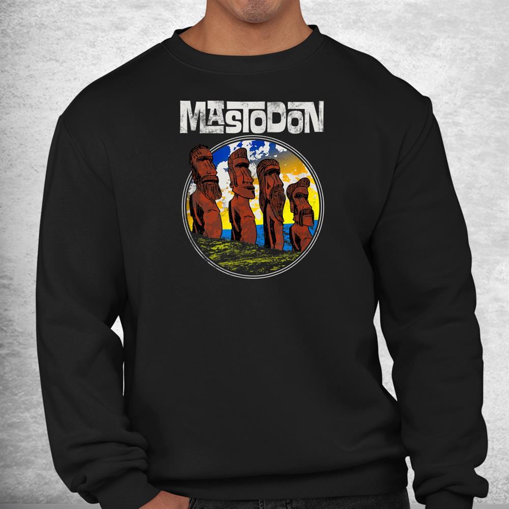 Mastodon Easter Statues Shirt
