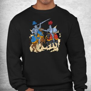 medieval competition on horses jousting shirt 2