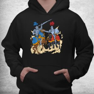 medieval competition on horses jousting shirt 3