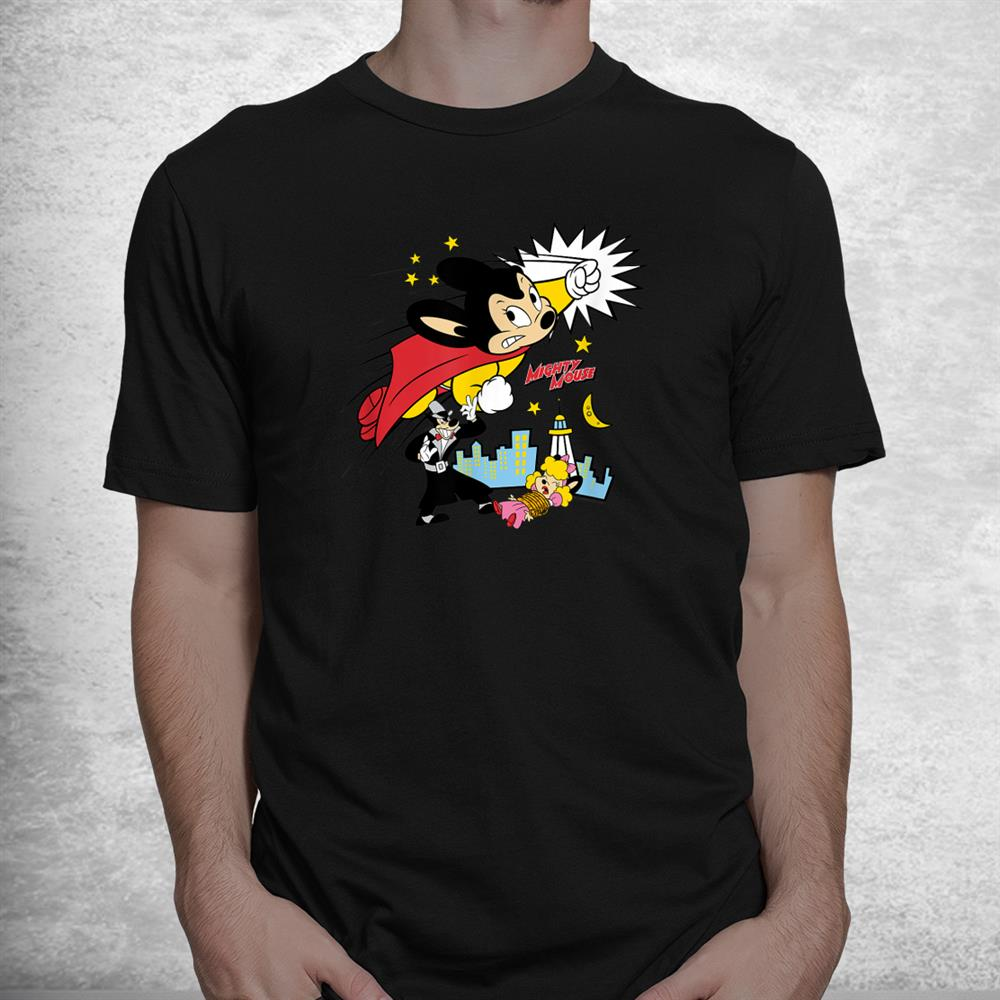 Mighty Mouse Mighty Fight Shirt