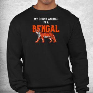 my spirit animal is a bengal tshirt cincinnati football shirt 2