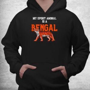 my spirit animal is a bengal tshirt cincinnati football shirt 3