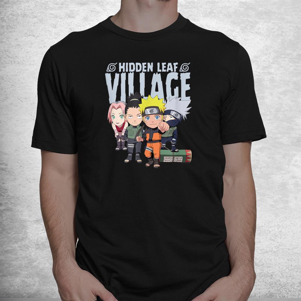 Naruto Shippuden Hidden Leaf Village Shirt