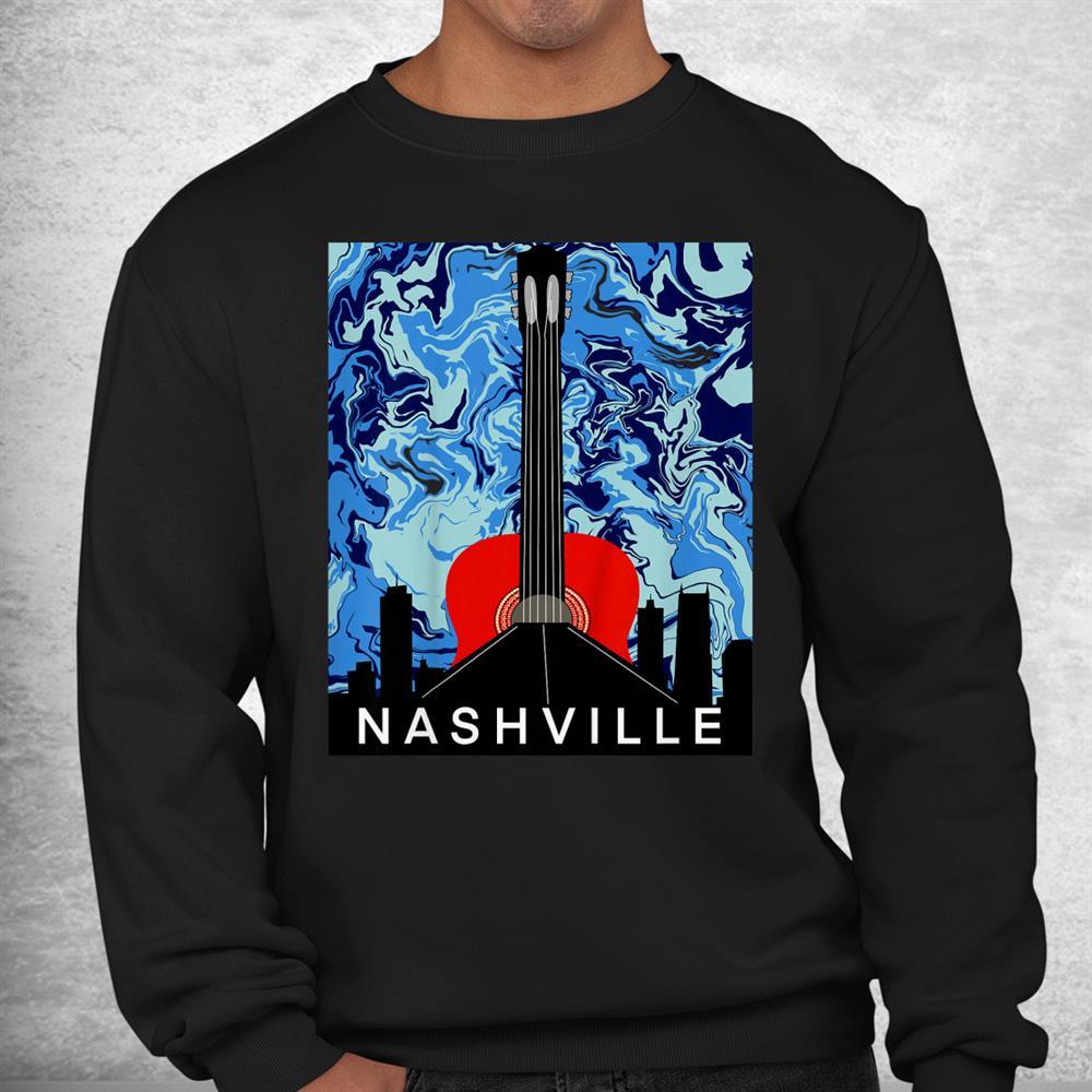 Nashville Skyline Guitar Shirt