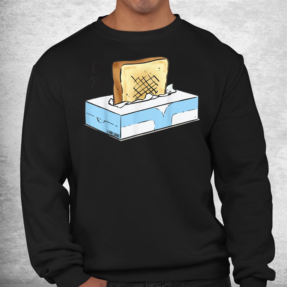 Nichijou Tissue Box Toasters Shirt