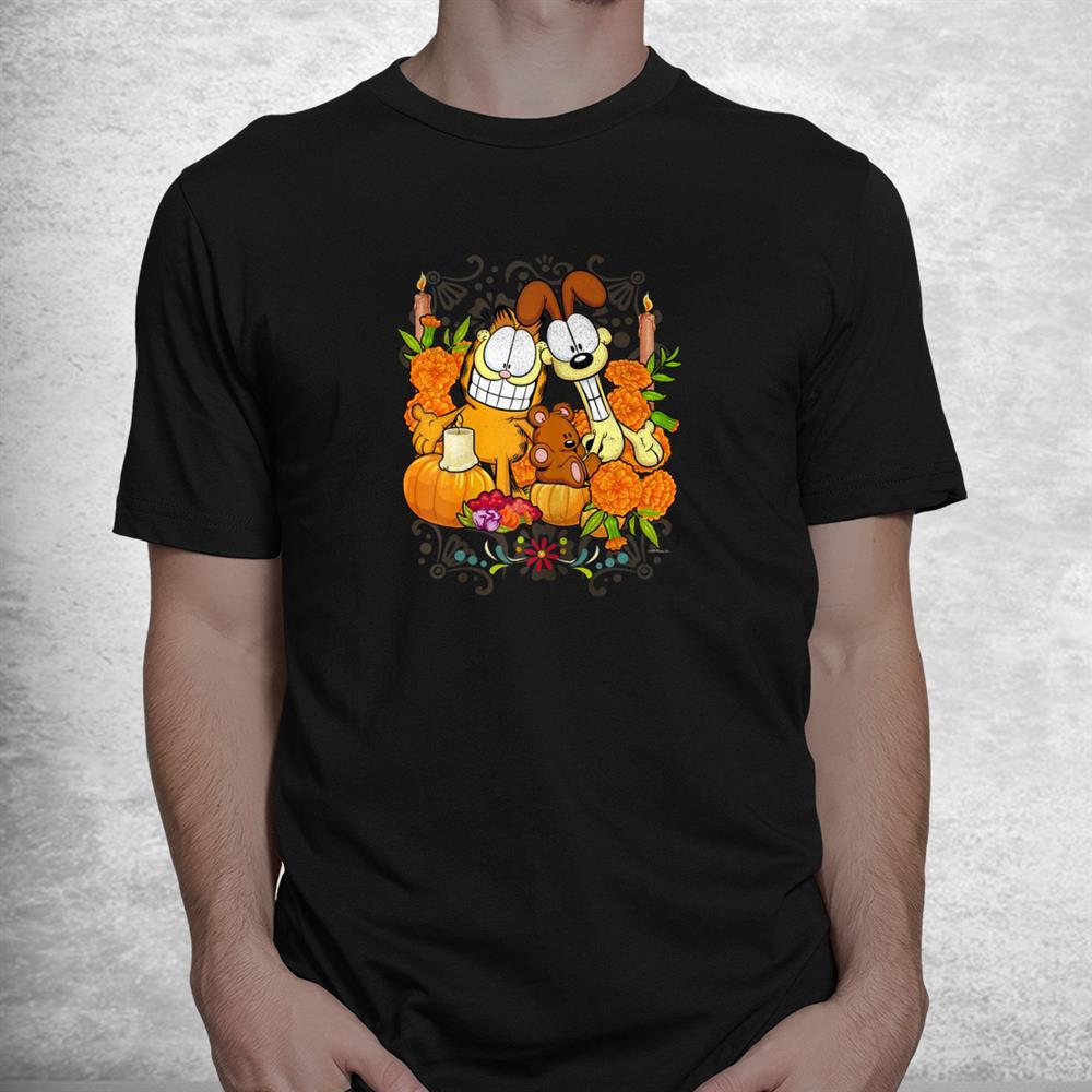 Nickelodeon Garfield Halloween Pumpkin Patch Pals Shirt