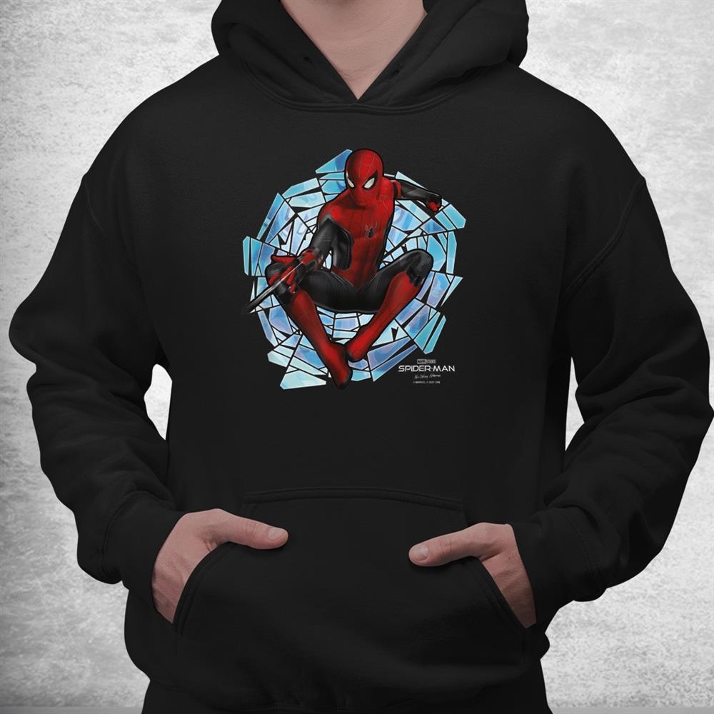 No Way Home Spider Man Web Spinner Shirt