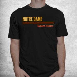 notre dame united states shirt 1