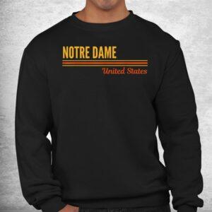 notre dame united states shirt 2