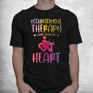 occupational therapist watercolor occupational therapy shirt 1