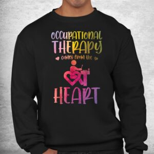 occupational therapist watercolor occupational therapy shirt 2