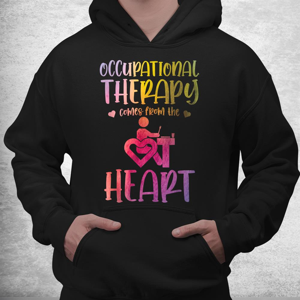 Occupational Therapist Watercolor Occupational Therapy Shirt
