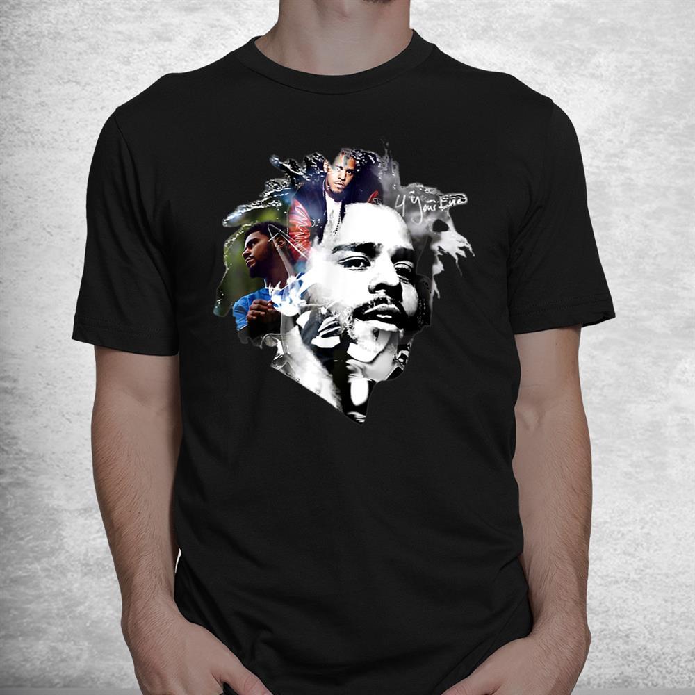 Official Jcoles Tee Rapper Retro Vintage Shirt