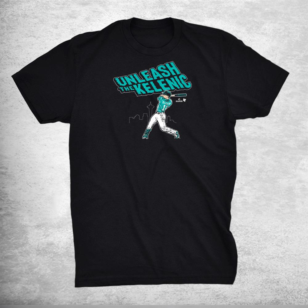 Officially Licensed Jarred Kelenic Unleash The Kelenic Shirt