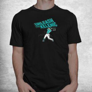officially licensed jarred kelenic unleash the kelenic shirt 1