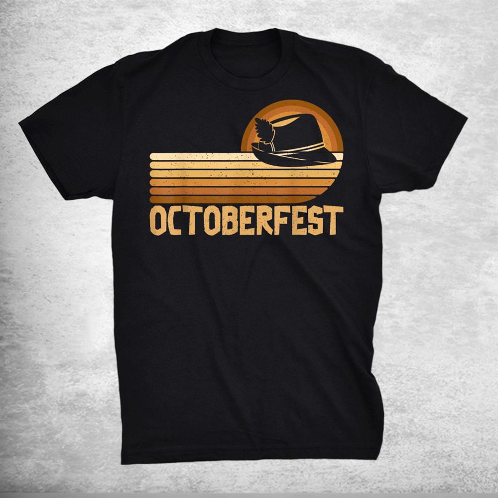 Oktoberfest Funny German Bavarian Retro Vintage Costume Shirt