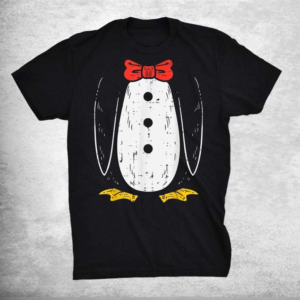 Penguin Costume Cute Halloween Animal Shirt