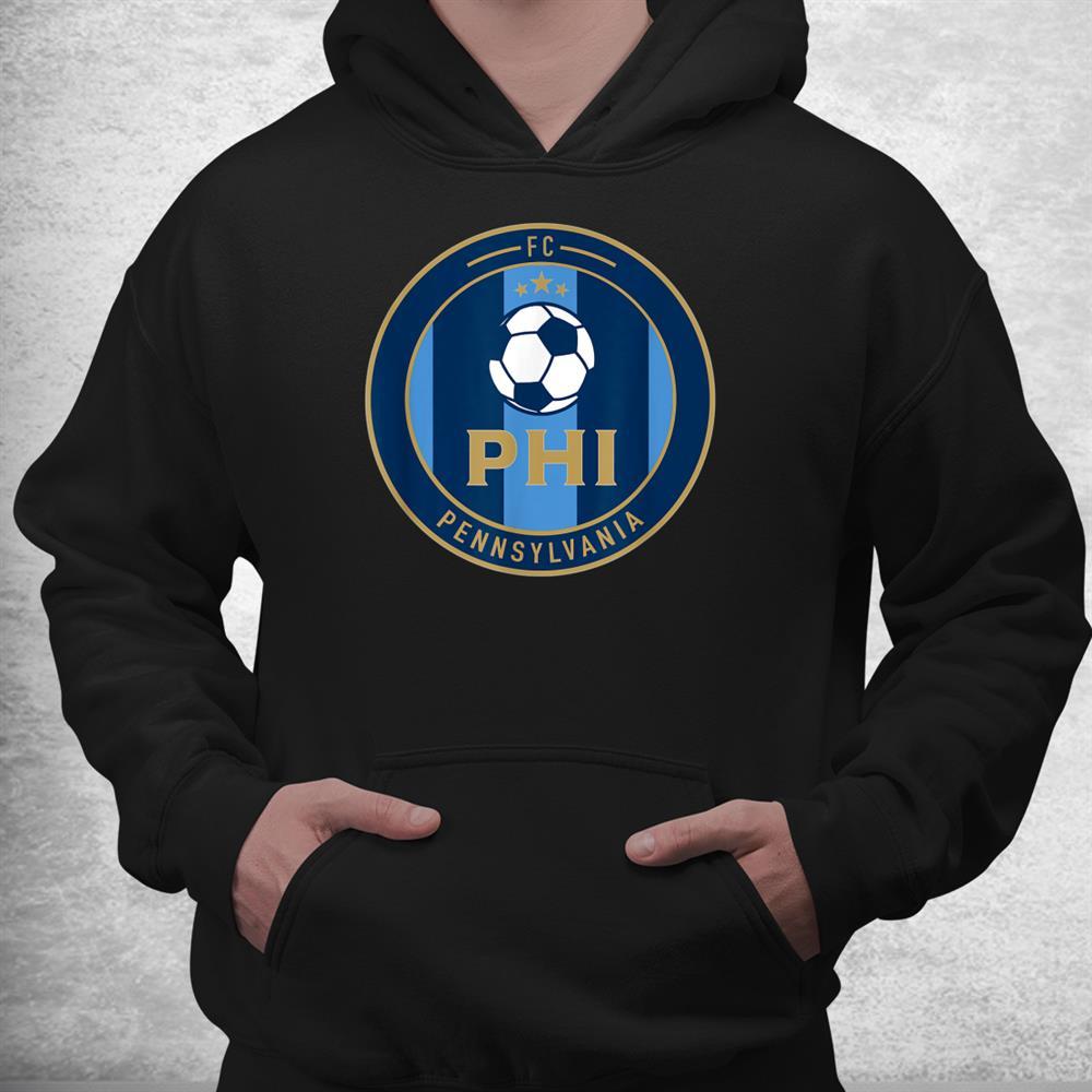 Philadelphia Soccer Jersey Original Fan Round Badge Shirt