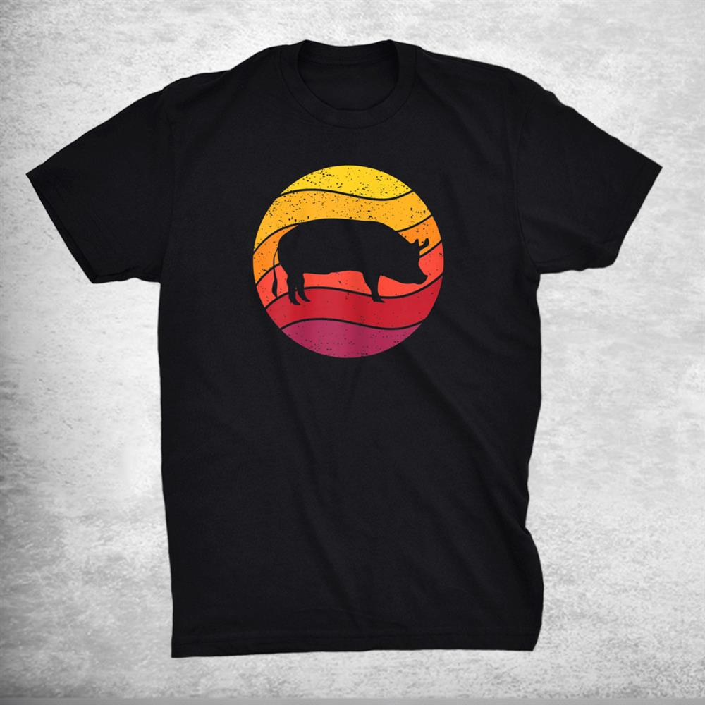 Pig Retro Style Vintage Shirt