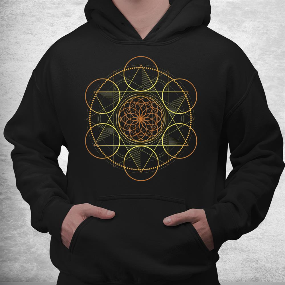 Prana Art Yoga Mandala Sacred Energy Geometry Meditation Shirt