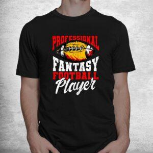 professional fantasy football player fantasy football shirt 1