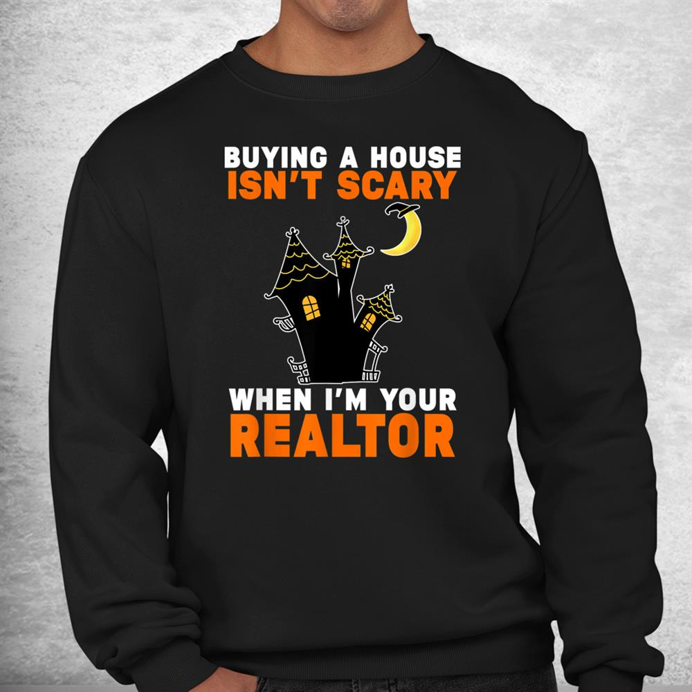 Realtor Halloween Real Estate Agent And Broker Funny Realtor Shirt