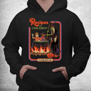 recipes for children cooking with kids witch shirt 3