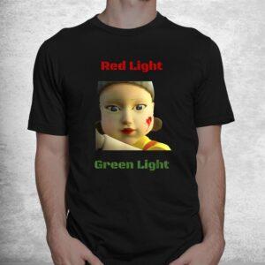 red light green light game shirt 1