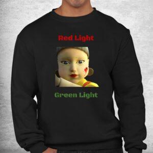 red light green light game shirt 2