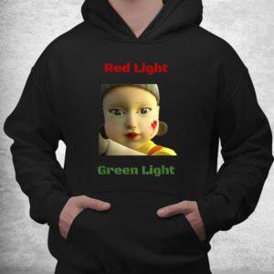 red light green light game shirt 3
