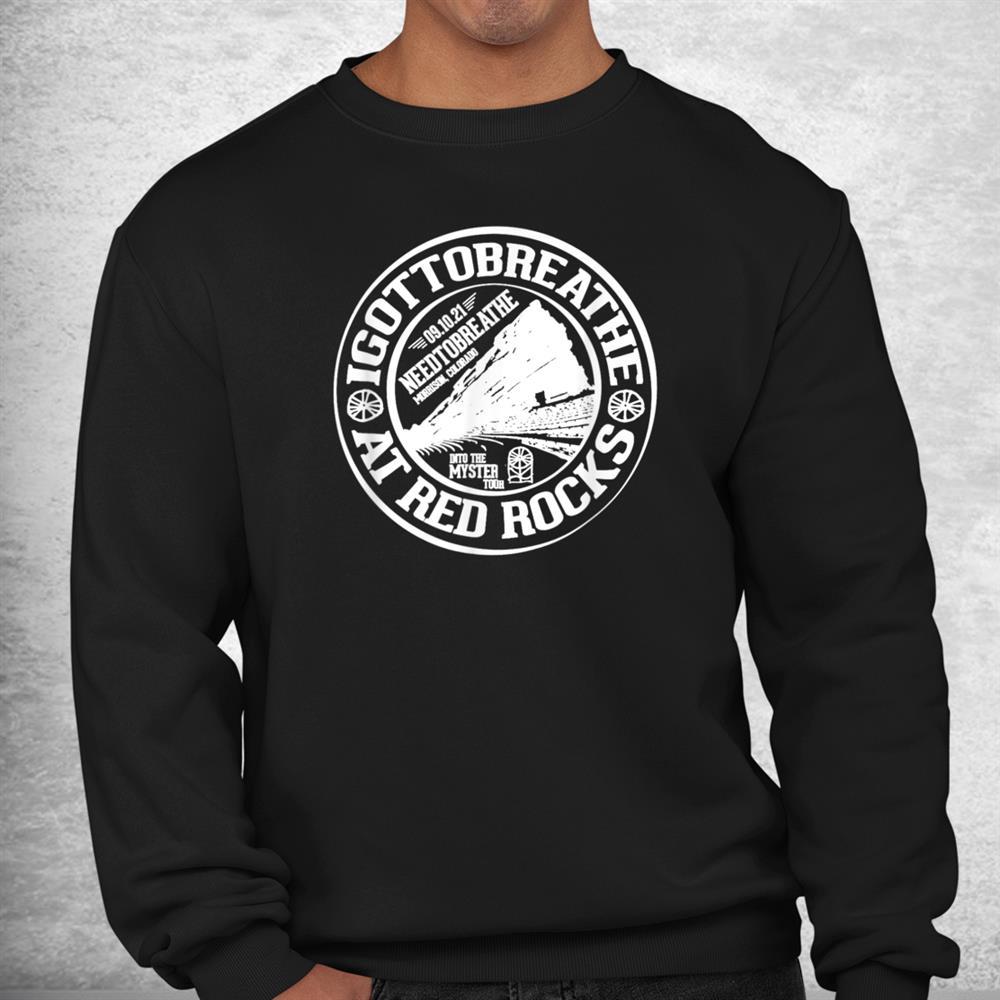 Red Rocks Needtobreathe Into The Myster Tour Shirt