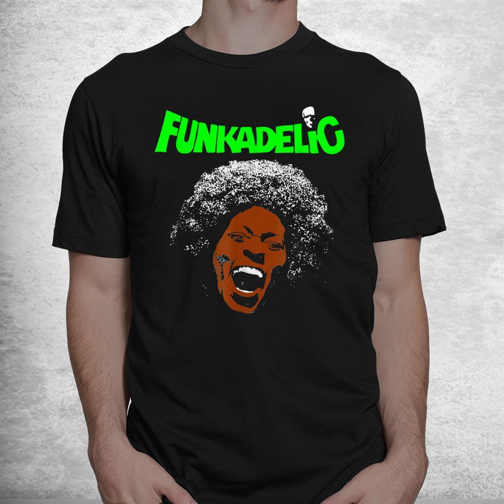 Retro Funkadelics Vaporwave Love Band Music Legend Never Die Shirt