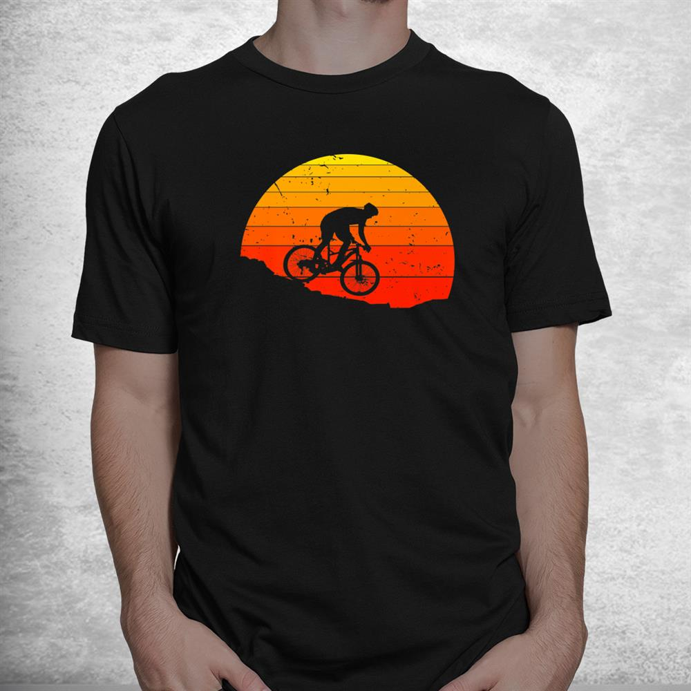 Retro Hardcore Mountain Biking Jumping Bmx Cycling Gear Shirt