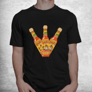 retro hot sauces design art cholula originals vintage styles shirt 1