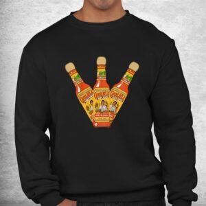 retro hot sauces design art cholula originals vintage styles shirt 2