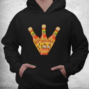 retro hot sauces design art cholula originals vintage styles shirt 3