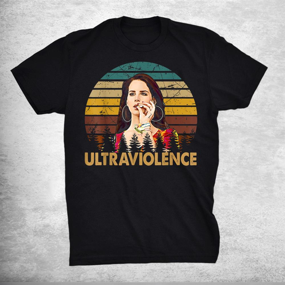 Retro Lana Del Classic Arts Rey Love Music Quotes Shirt