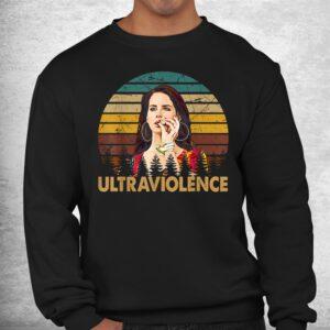 retro lana del classic arts rey love music quotes shirt 2