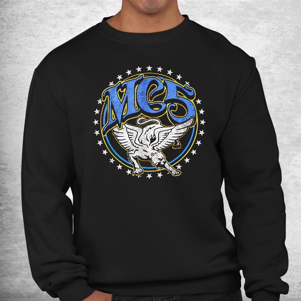 Retro Mc5 Band Memes Cosplay Vaporware Rock Music Shirt