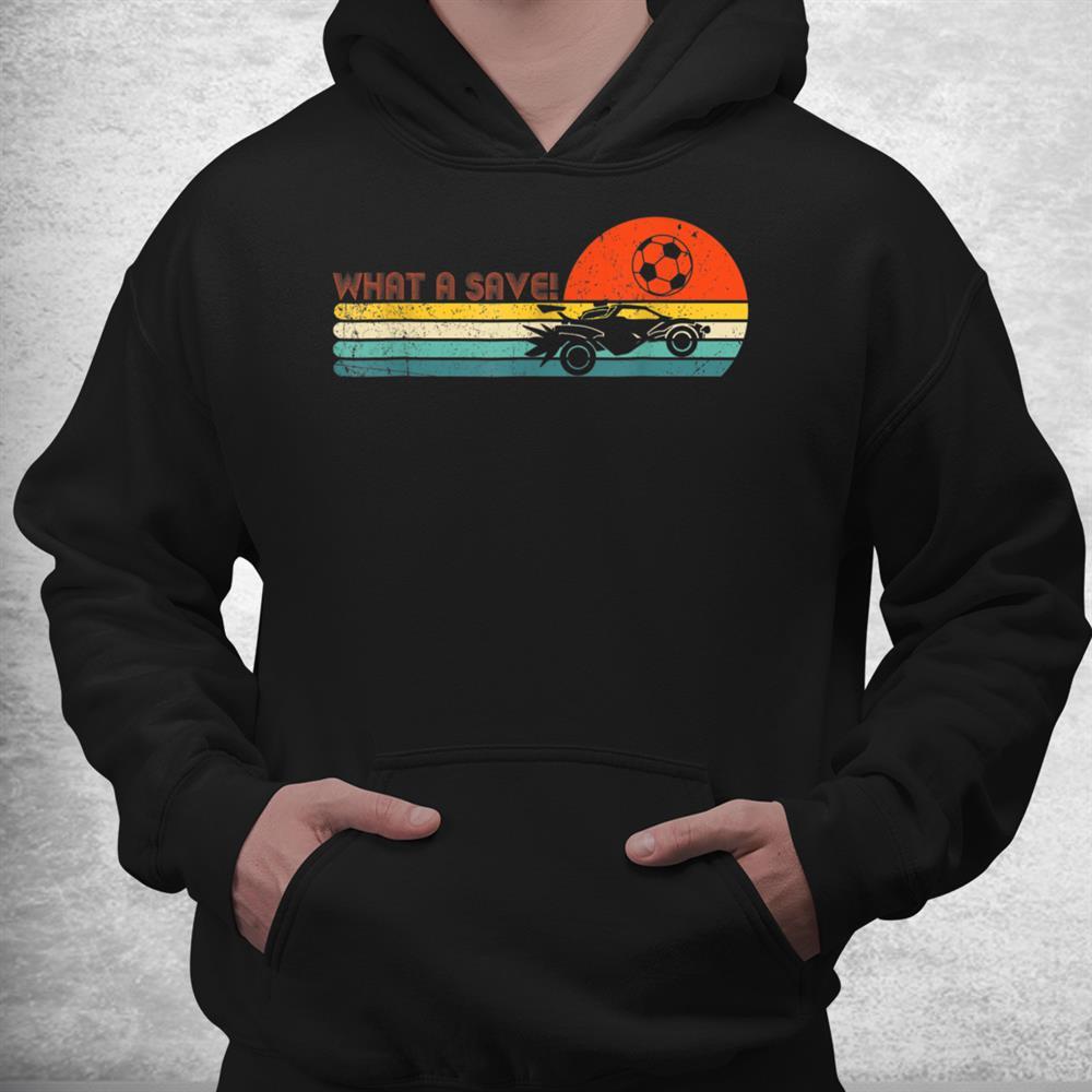 Retro Style Rocket Rc Soccer Car League Funny Gamer Shirt