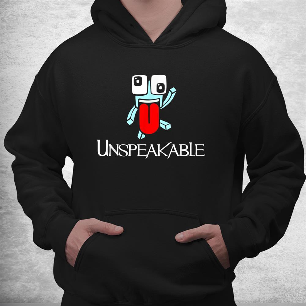 Retro Unspeakable Merch Funny Play Gamer Shirt