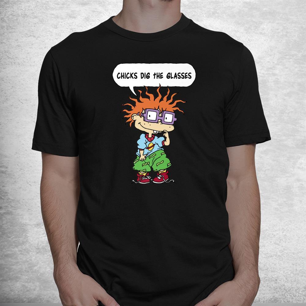 Rugrats Chuckie Chicks Dig The Glasses Shirt