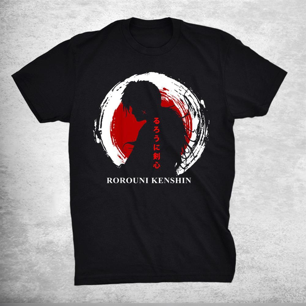 Rurouni Classic Arts Kenshin Anime Manga Characters Shirt
