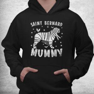 saint bernard mummy halloween shirt 3