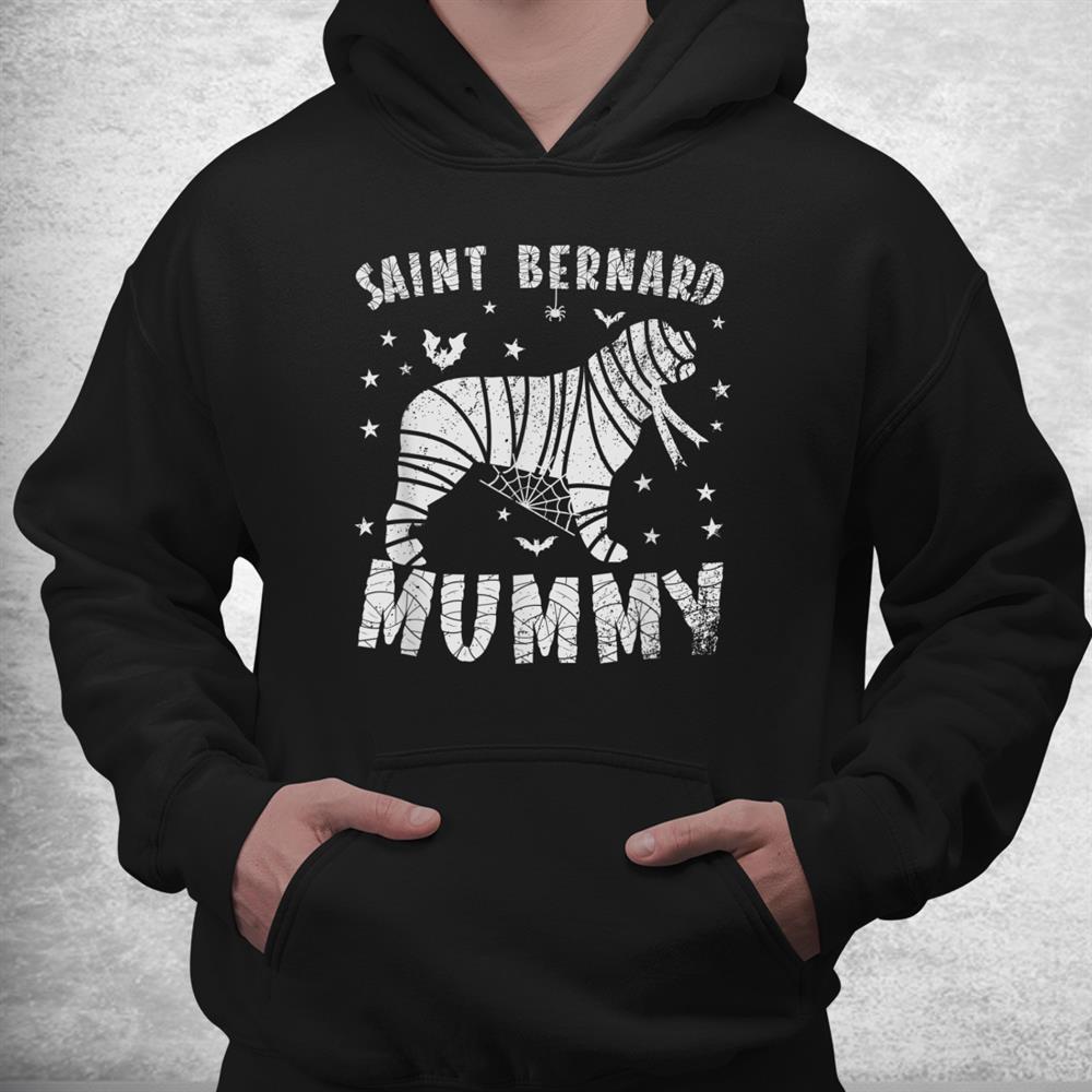 Saint Bernard Mummy Halloween Shirt