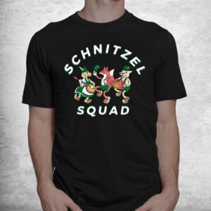 schnitzel squad oktoberfest german theme party brass band shirt 1