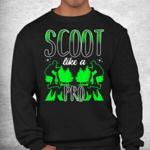 scoot like a pro e scooter shirt 2